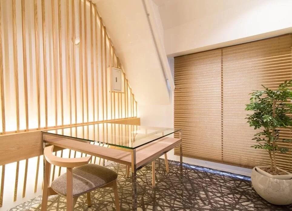 RINX(リンクス)銀座有楽町店のカウンセリング室