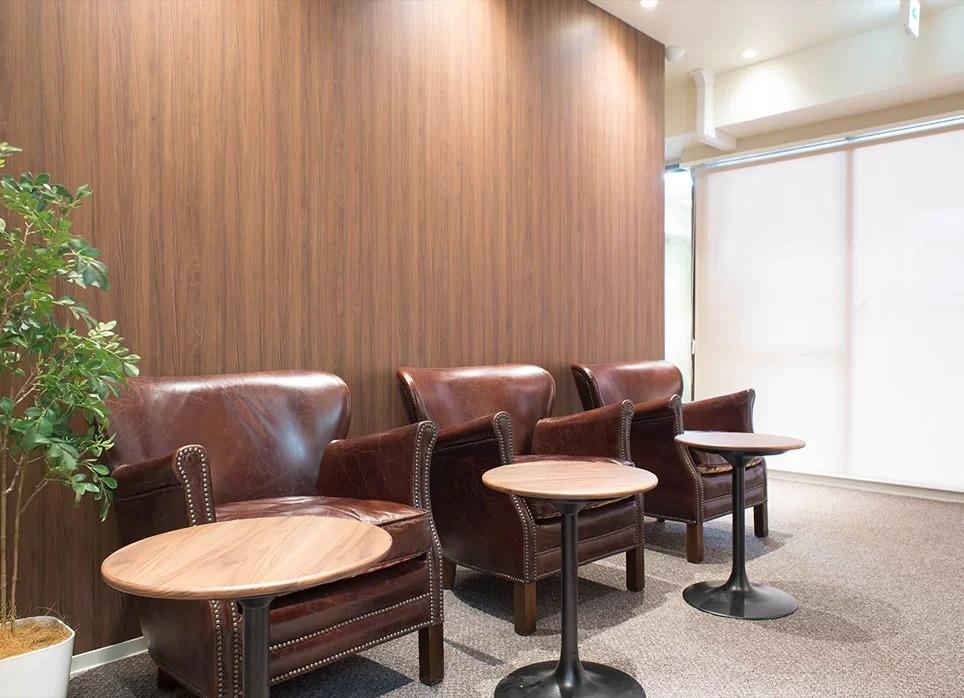 RINX(リンクス)渋谷店の待合室