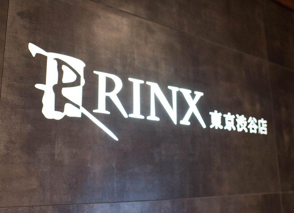 RINX(リンクス)渋谷店の受付